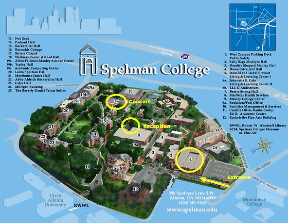 Spelman map