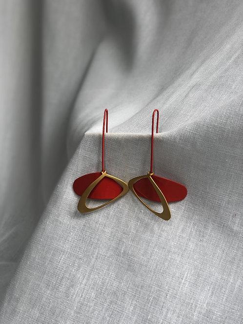 Boucles d'oreilles Ovale