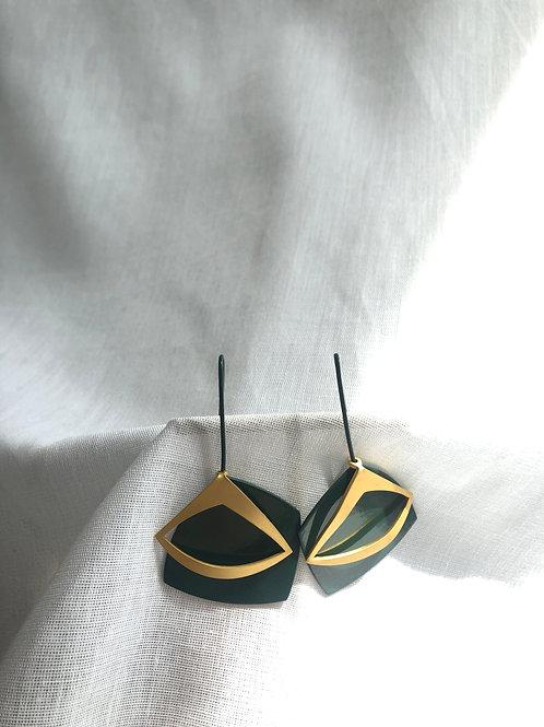 Boucles d'oreilles Rombo