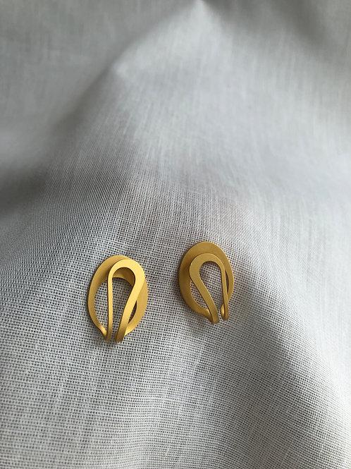 Boucles d'oreilles sans fin
