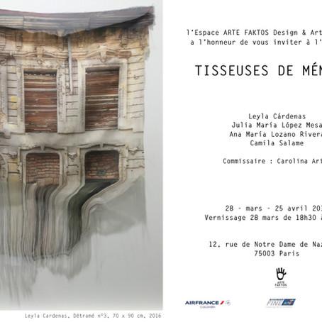 """EXPOSITION : """"TISSEUSES DE MÉMOIRE"""""""