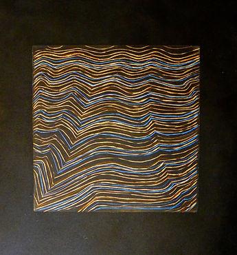 Copper Linings, burin on plexiglass, 202