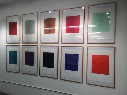 Solo Show Prints by M van de Roer NY 201