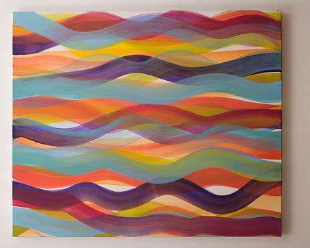 Over the rainbow I 2014 - 100 x 120 cm