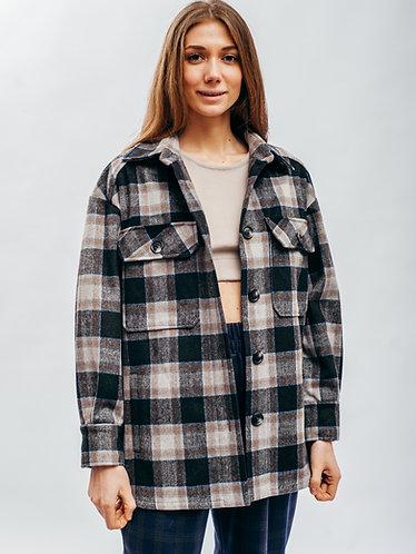 Копия Куртка-рубашка из шерсти