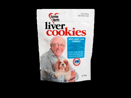 관절 건강관리 쿠키