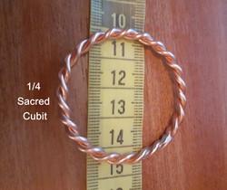 1/4 Sacred Cubit Ring