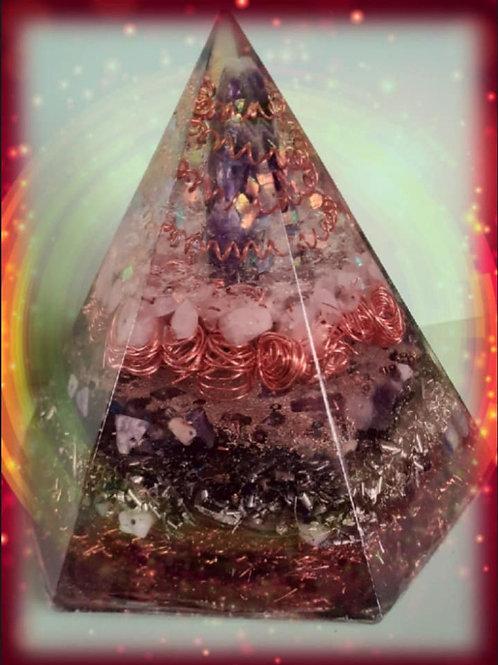 Holographic Metatron Love Generation Pyramid