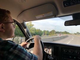 A pretty drive!