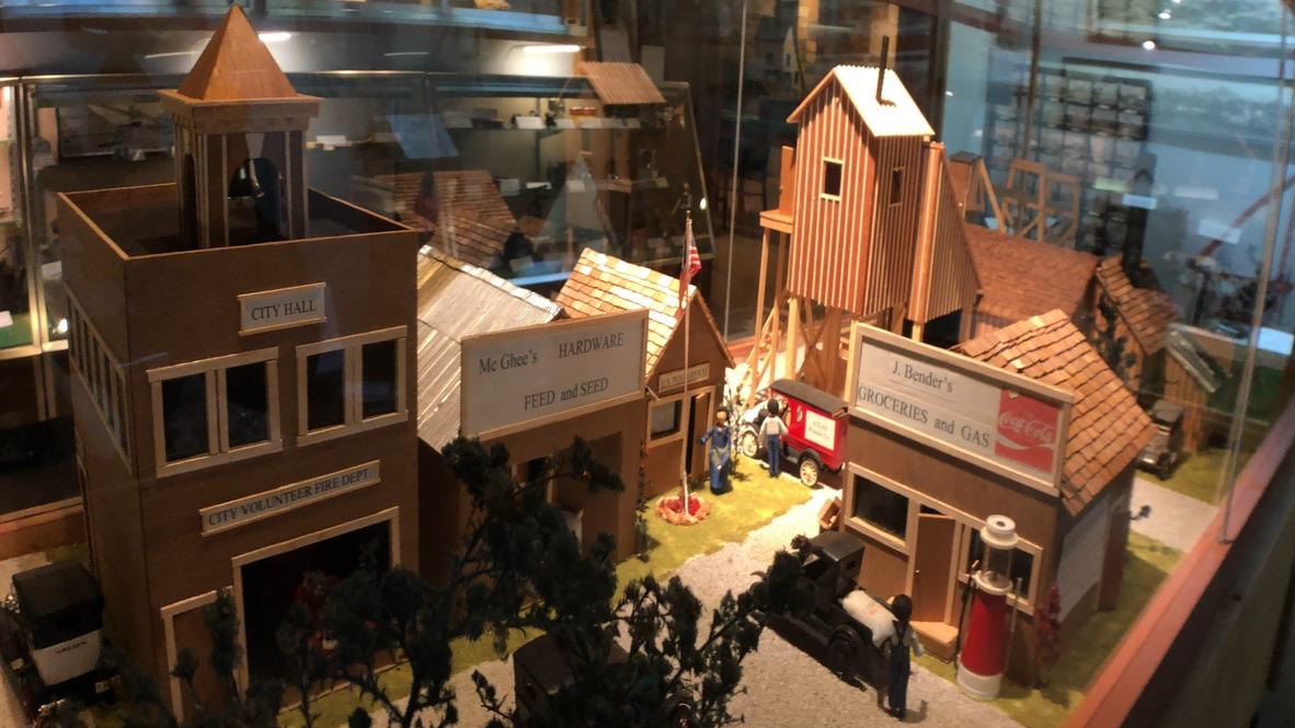 Mining Town Replica