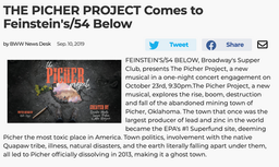 Broadway World Article