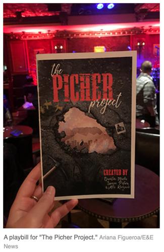 Picher Playbill