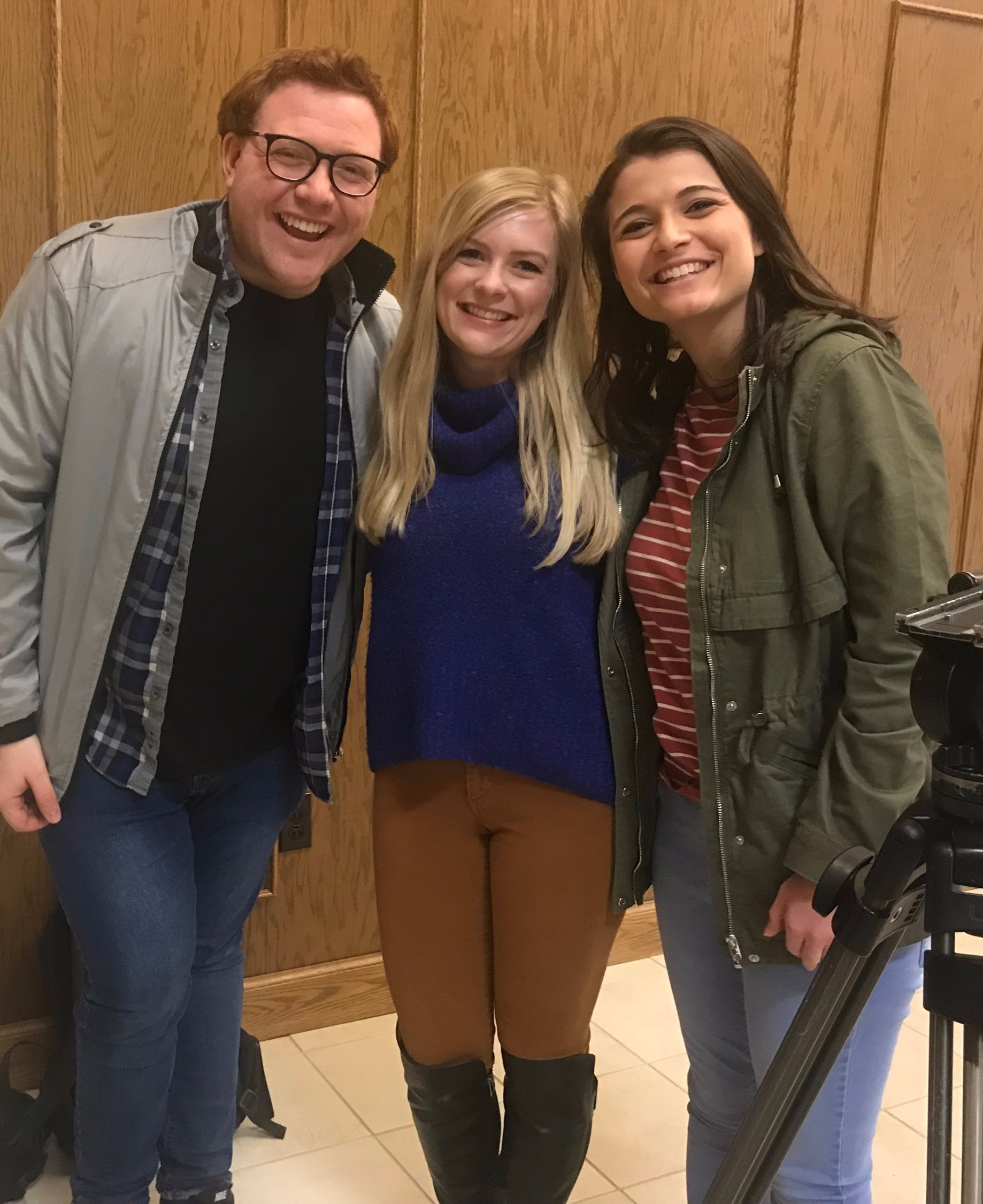 Quentin, Kait Kelly, and Lauren