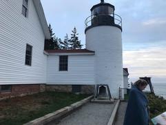 The Bass Harbor Lighthouse