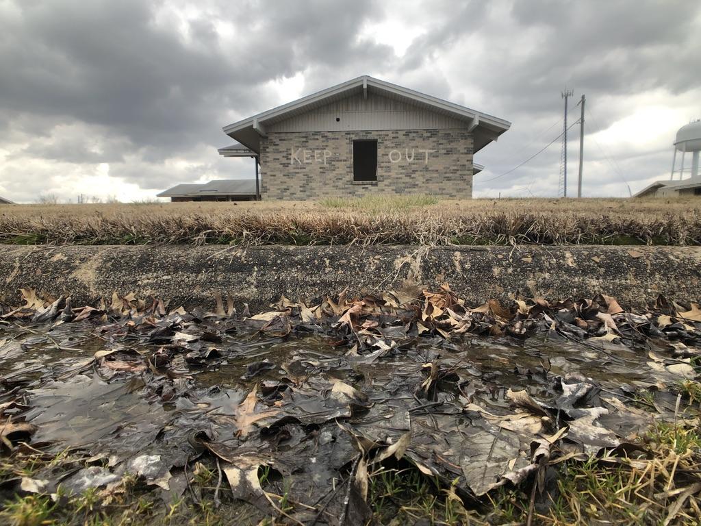 KEEP OUT - Abandoned House
