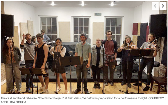 Full Cast Rehearsal, Joplin Globe