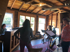 More rehearsals...