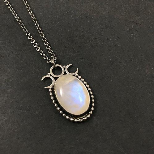 Lucine Moonstone Necklace