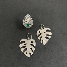 Custom Monstera Leaf Set