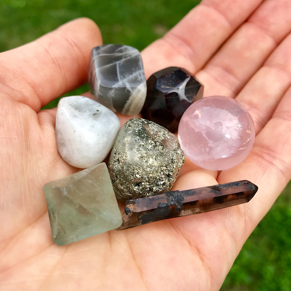 how to use crystals in your daily life Emily Percival talisman jewelry