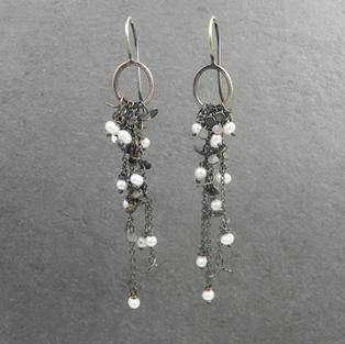 Lichen Cascade Earrings