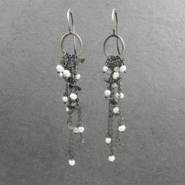Lichen Cascade Earrings