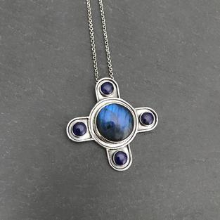 Custom Blue Necklace
