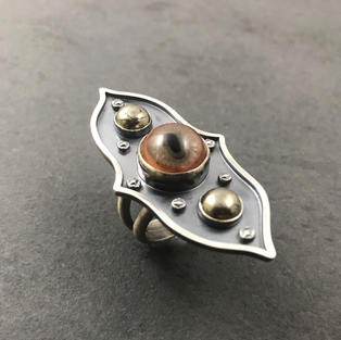Curio Sheild Ring
