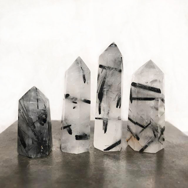 Emily Percival Jewelry Rutilated Quartz Point