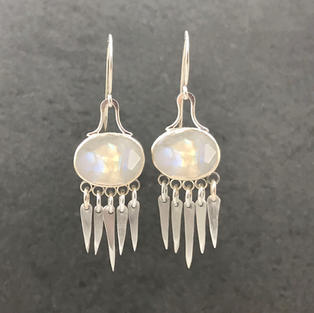 Sorcha Earring with Moonstone