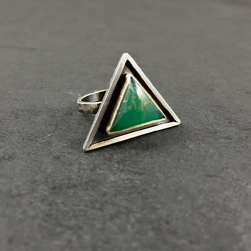 Elemental Ring with Chysophrase