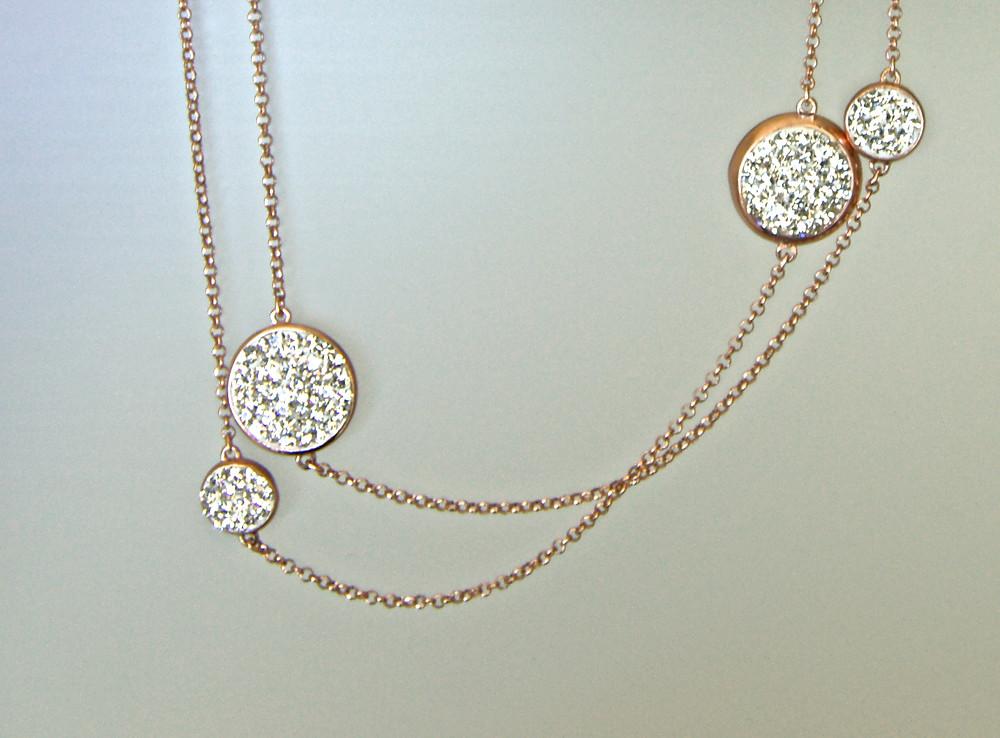 Gold CV Necklace