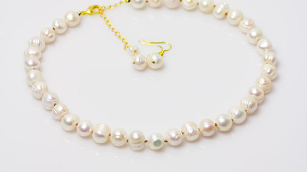 Freshwater Pearl Necklace Only