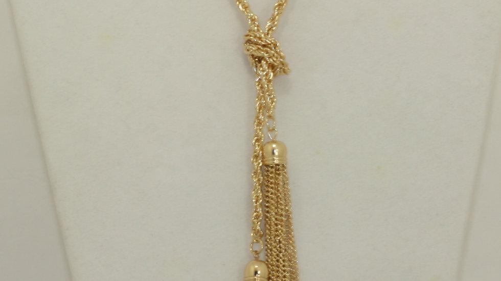 Long Tassel Necklace/Belt zoom