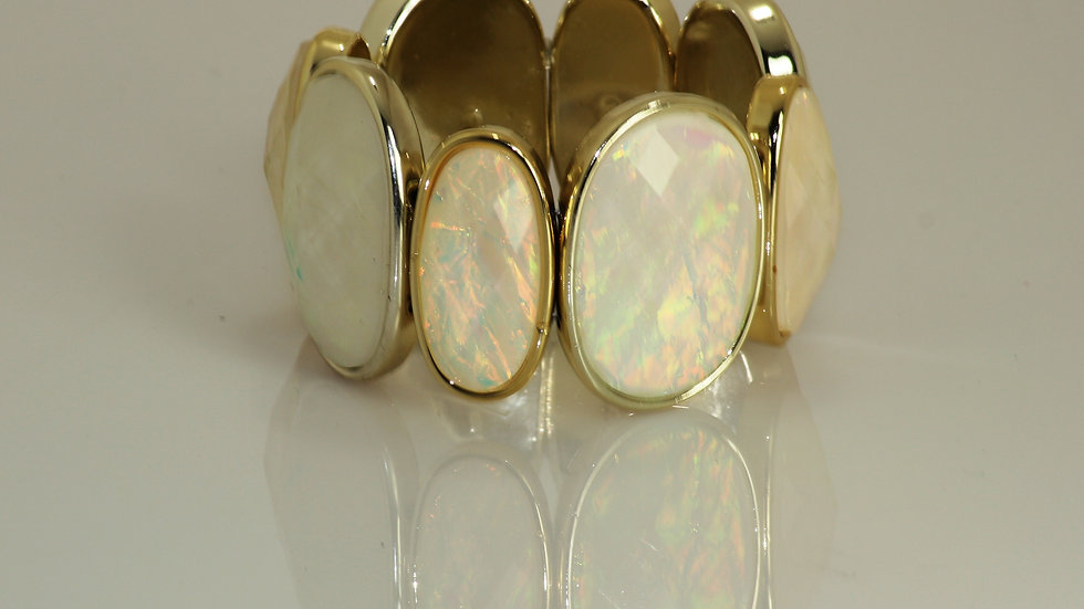 Iridescent Stretch Bracelet