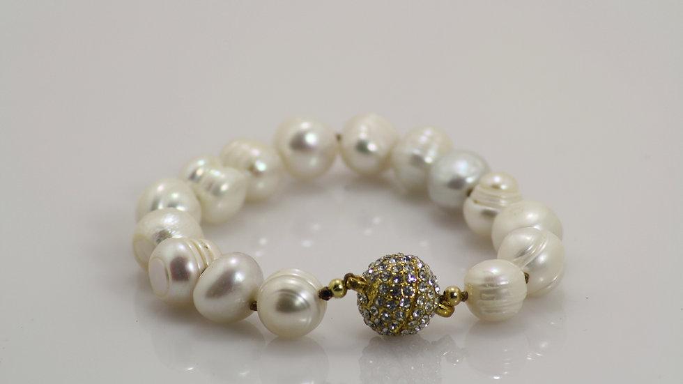 Freshwater Pearl Bracelet 3/4