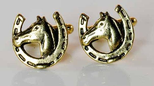 Equestrian Cufflinks