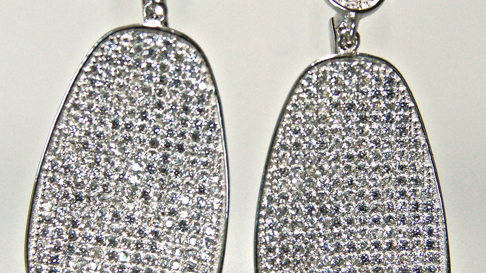 Italian Micro Pave Earrings zoom