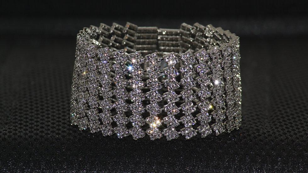 Fancy Diamonesque Bracelet close