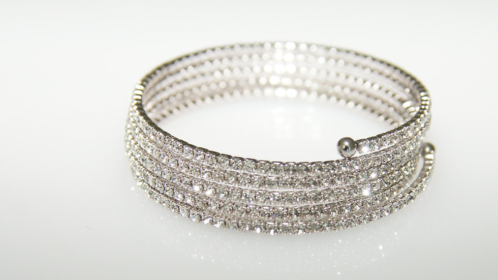 5 Row Flex Bracelet Diamonesque