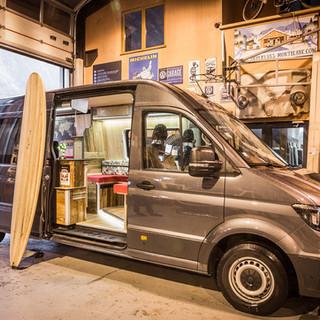 Aménagement Volkswagen Crafter L4H3