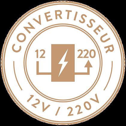 CONVERTISSEUR  12-220v - 12/375 VA