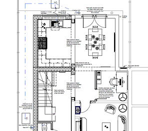 architect-planning-drawing-extension-2D-