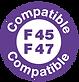 Compatible fourrure 45 47