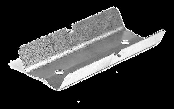 Eclisse de raccordement avec effet ressort permettant la tenue sur tous types de fourrures 45 ou 47 mm