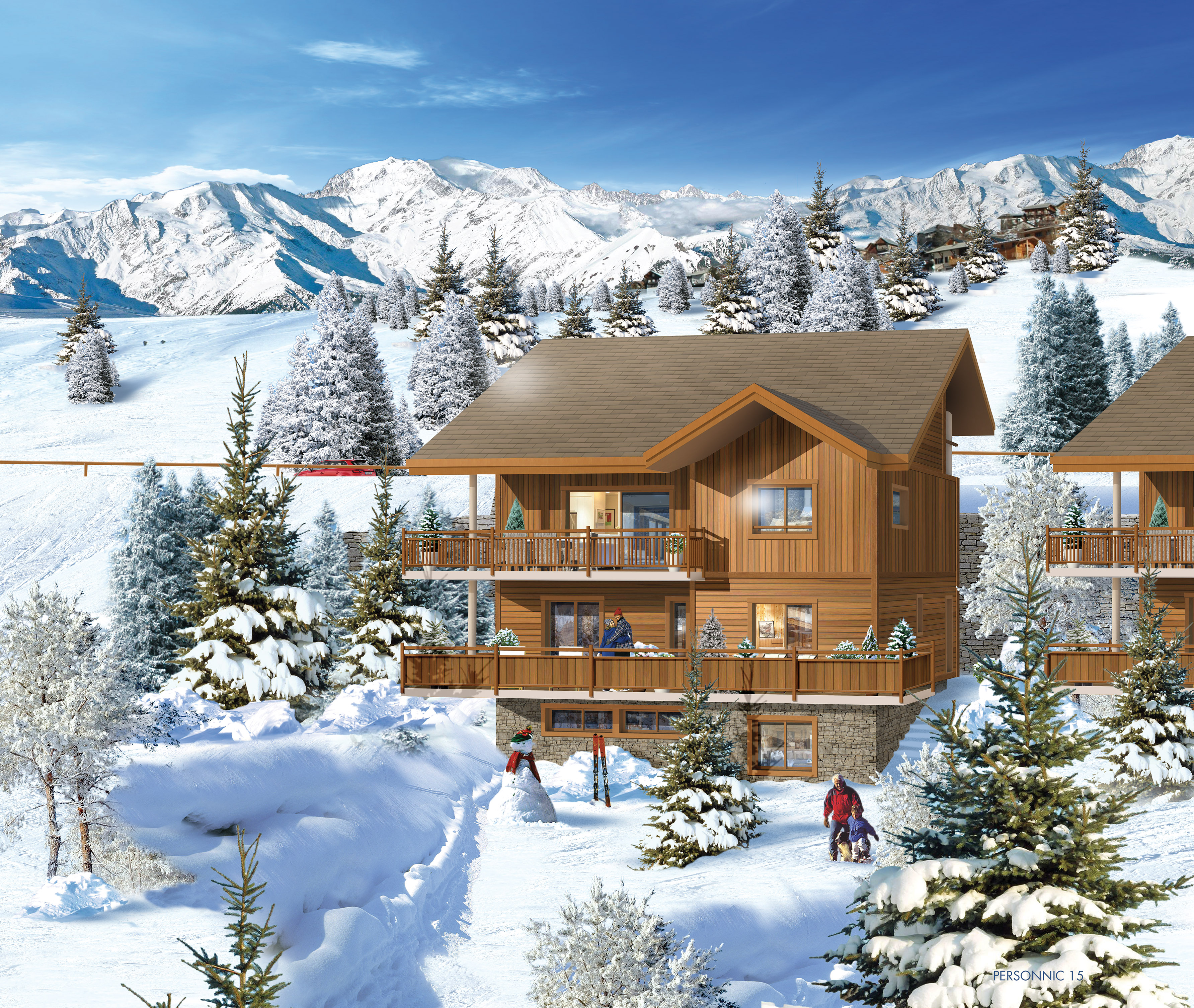 Pers chalets vars