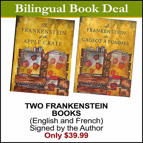 Bilingual Frankenstein book package