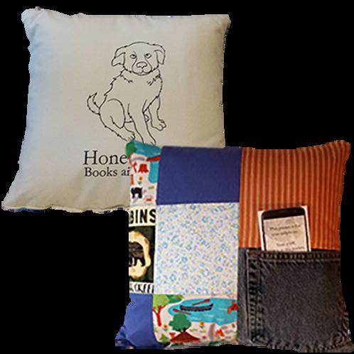 "Original Honey Girl Pillow, ""Hometown Hero"""