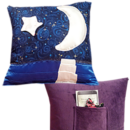 Moonrise Tranquility Pillow