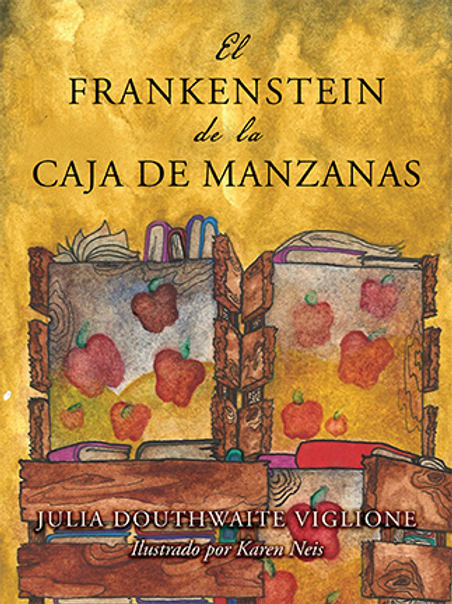 Frankenstein Hardcover book Spanish